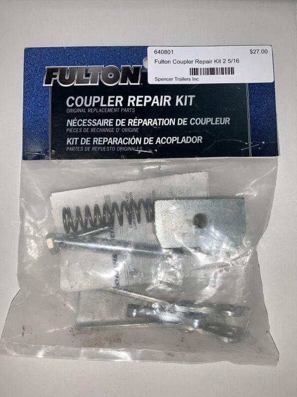 640801 Fulton Coupler repair kit